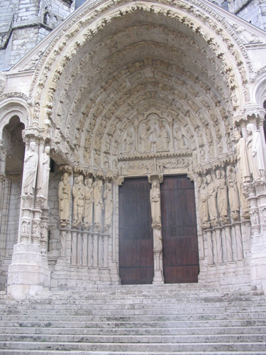 North entrance, Chartres cathedral