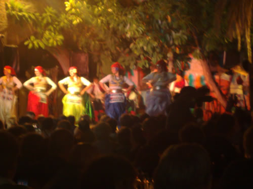 Turkish night at the Kervansaray - dancers