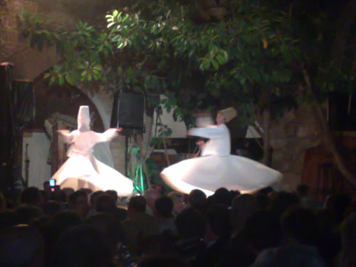 Turkish night at the Kervansaray - dervishes